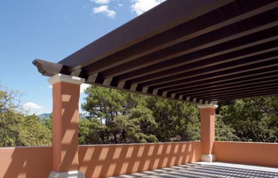 Pergolas y techos de madera - Techos para pergolas de madera ...