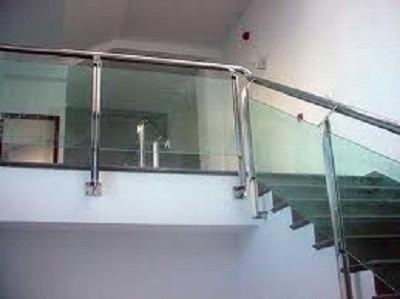 Escaleras en acero cristal - Cristaleras para terrazas ...